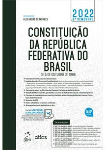 CONSTITUIÇAO DA REPUBLICA FEDERATIVA DO BRASIL - 47ªED.(2019)