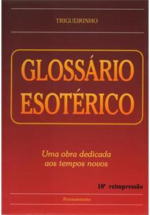 LIVRO GLOSSARIO ESOTERICO