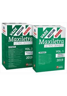 VADE MECUM RIDEEL MAXILETRA (LETRAS GRANDES) - 2 VOLUMES