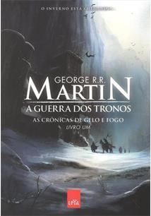 a5a5031a5 A GUERRA DOS TRONOS - George R. R. Martin - Livro