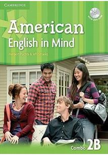 AMERICAN ENGLISH IN MIND 2B - STUDENT'S BOOK WITH WORKBOOK WITH DVD ROM