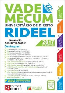 VADE MECUM UNIVERSITARIO DE DIREITO RIDEEL - 22ªED.(2017)