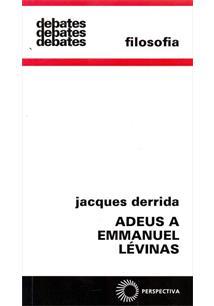 LIVRO ADEUS A EMMANUEL LEVINAS