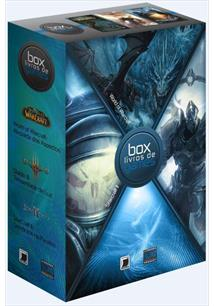 BOX LIVROS DE GAMES 3: DIABLO III / WORLD OF WARCRAFT / STARCRAFT II