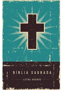 BIBLIA RETRO TURQUESA LETRA GRANDE LEITURA PERFEITA - 1ªED.(2021)