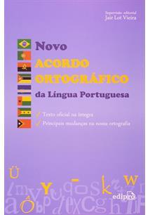 LIVRO NOVO ACORDO ORTOGRAFICO DA LINGUA PORTUGUESA
