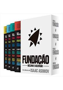BOX FUNDAÇAO: DECLINIO E ASCENSAO (VOLUMES 4, 5, 6 E 7) - 2ªED.(2019)