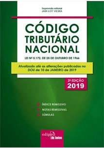 LIVRO MINI CODIGO TRIBUTARIO NACIONAL (2ª EDIÇAO 2019) - 2ªED.(2019)
