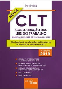 MINI CLT: CONSOLIDAÇAO DAS LEIS DO TRABALHO (4ª EDIÇAO 2019) - 4ªED.(2019)
