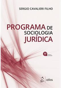 PROGRAMA DE SOCIOLOGIA JURIDICA - 15ªED.(2019)