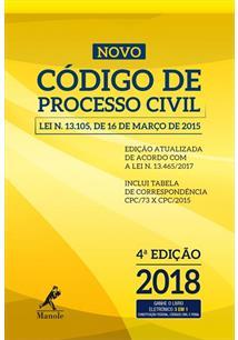 NOVO CODIGO DE PROCESSO CIVIL 2018 - 4ªED.(2018)