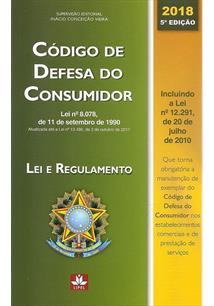 CODIGO DE DEFESA DO CONSUMIDOR - 5ªED.(2018)