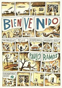 LIVRO BIENVENIDO: UM PASSEIO PELOS QUADRINHOS ARGENTINOS - 1ªED.(2010)