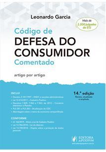 eac88301e LIVRO CODIGO DE DEFESA DO CONSUMIDOR COMENTADO: ARTIGO POR ARTIGO -  14ªED.(2019
