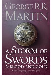 LIVRO A STORM OF SWORDS: PART 2 - BLOOD AND GOLD