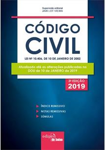 MINI CODIGO CIVIL (3ª EDIÇAO 2019) - 3ªED.(2019)