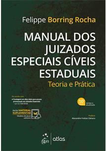 MANUAL DOS JUIZADOS ESPECIAIS CIVEIS ESTADUAIS: TEORIA E PRATICA - 10ªED.(2019)