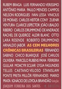 LIVRO AS CEM MELHORES CRONICAS BRASILEIRAS