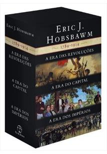 BOX ERIC J. HOBSBAWM: AS ERAS - 1789-1914 (3 VOLUMES)