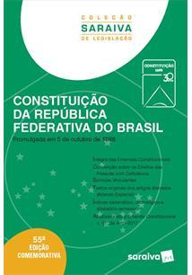 LIVRO CONSTITUIÇAO DA REPUBLICA FEDERATIVA DO BRASIL 55º EDIÇAO 2018 - 55ªED.(2018)