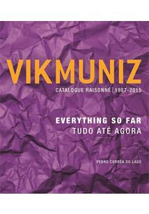 BOX VIK MUNIZ: CATALOGUE RAISONNE 1987-2015 - TUDO ATE AGORA (2 VOLUMES)