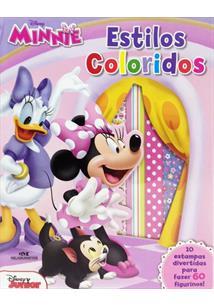 minnie estilos coloridos disney livro