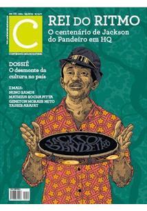 REVISTA CONTINENTE #224: REI DO RITMO - O CENTENARIO DO PANDEIRO EM HQ