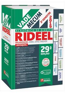 VADE MECUM ACADEMICO DE DIREITO RIDEEL 2019 2ª SEMESTRE - 29ªED.(2019)
