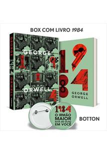 KIT 1984 (EDIÇAO LIMITADA COM BOX E BOTTON)