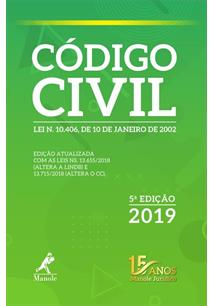 CODIGO CIVIL - 5ªED.(2019)