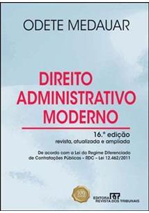 livro direito administrativo moderno odete medauar