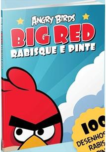 Angry Birds Big Red Rabisque E Pinte Vergara Riba Livro