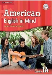 AMERICAN ENGLISH IN MIND 1A COMBO - STUDENT'S BOOK WITH WORKBOO + DVD ROM)