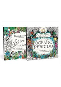 COLEÇAO SELVA MAGICA + OCEANO PERDIDO - 1ªED.(2020)