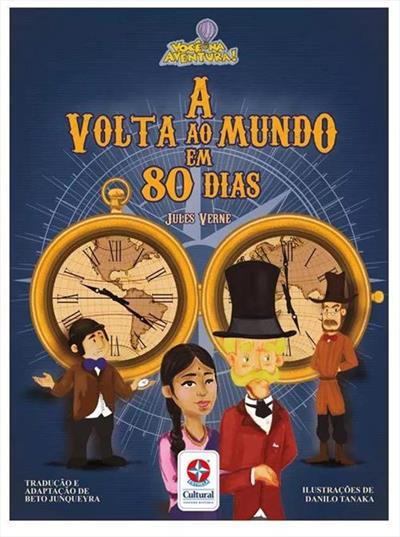 A Volta Ao Mundo Em 80 Dias Livro Interativo Julio Verne Livro